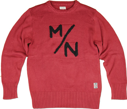 MAGIC NUMBER Holiday最新ITEM 5G Cotton Blend Knit M/N Sweater