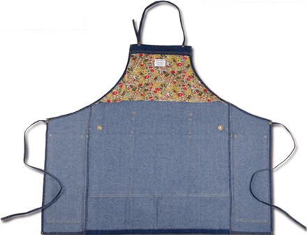 MAGIC NUMBER Holiday最新ITEM Stretch Denim Utility Apron
