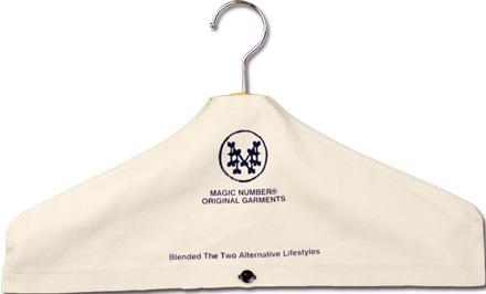 インテリアとしての新しい提案『Cotton Canvas Hanger Cover』MAGIC NUMBER Holiday最新ITEM