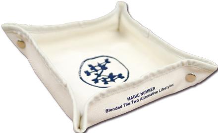 デスク周りの整理に便利『Cotton Canvas Tray』MAGIC NUMBER Holiday最新ITEM