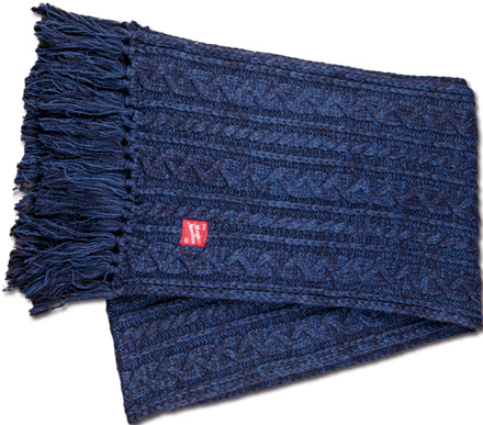 MAGIC NUMBER Holiday最新ITEM Wool Knit Muffler