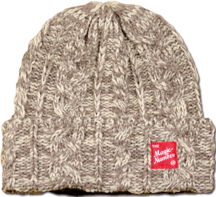 MAGIC NUMBER Holiday最新ITEM Wool Knit Beanie