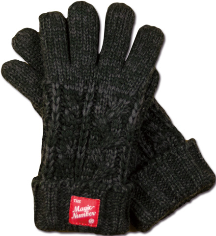 MAGIC NUMBER Holiday最新ITEM Wool Knit Glove