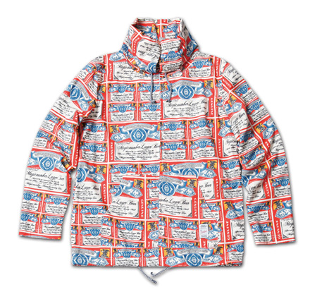 オリジナルプリントが際立つジャケット『 Packable Hoodie Zip-Up Jacket (Original Pattern)』MAGIC NUMBER 14SS最新ITEM_Lager