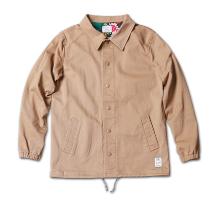 『RUDO 4月号』掲載『Cotton Stretch Twill Coach Jacket』MAGIC NUMBER 14SS最新ITEM_Beige