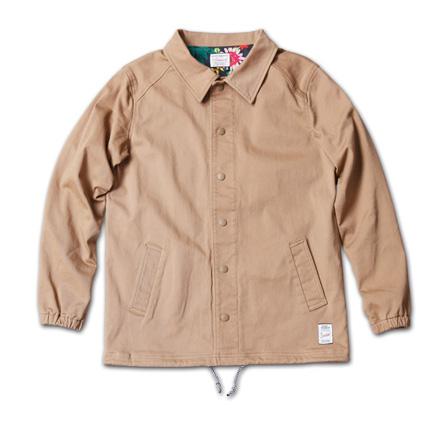 『RUDO 4月号』掲載『Cotton Stretch Twill Coach Jacket』MAGIC NUMBER 14SS最新ITEM_Beige