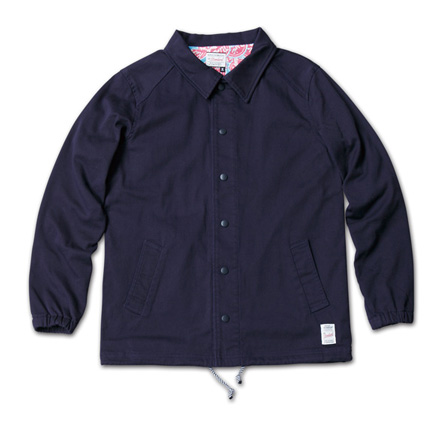 『RUDO 4月号』掲載『Cotton Stretch Twill Coach Jacket』MAGIC NUMBER 14SS最新ITEM_Navy