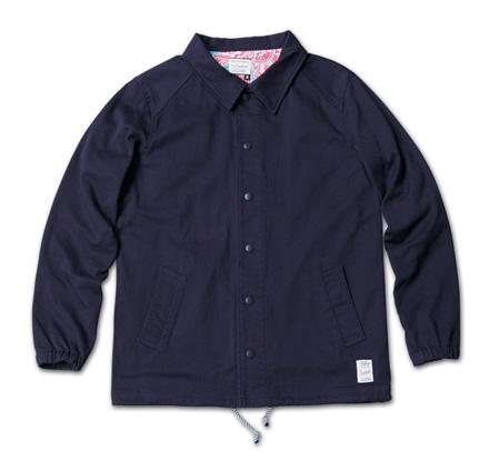 『RUDO 4月号』掲載『Cotton Stretch Twill Coach Jacket』MAGIC NUMBER 14SS最新ITEM_Navy