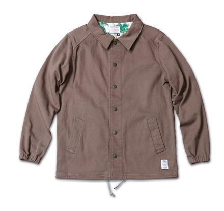 『RUDO 4月号』掲載『Cotton Stretch Twill Coach Jacket』MAGIC NUMBER 14SS最新ITEM