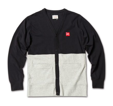 MAGIC NUMBER AW最新ITEM Bi-color Cardigan