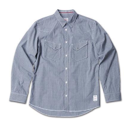 ギンガムチェックとタータンチェックの2種類あるウエスタンシャツ『Gingham Check & Tartan Check Western Shirts』MAGIC NUMBER 14SS最新ITEM_Black
