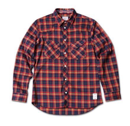ギンガムチェックとタータンチェックの2種類あるウエスタンシャツ『Gingham Check & Tartan Check Western Shirts』MAGIC NUMBER 14SS最新ITEM_NavyxRed