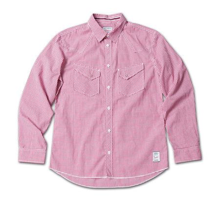 ギンガムチェックとタータンチェックの2種類あるウエスタンシャツ『Gingham Check & Tartan Check Western Shirts』MAGIC NUMBER 14SS最新ITEM_Red