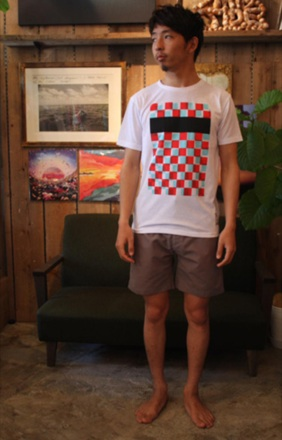 ラフなチェッカーパターンのT『CT Checker Pattern Tee』MAGIC NUMBER 14HS最新ITEM