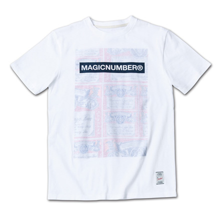 MN定番ロゴとオリジナル柄の裏プリントT『Original Pattern Inside Print Tee』MAGIC NUMBER 14SS最新ITEM_Lager