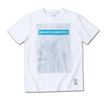 MN定番ロゴとオリジナル柄の裏プリントT『Original Pattern Inside Print Tee』MAGIC NUMBER 14SS最新ITEM_Palm