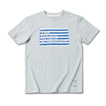 ボーダーボックスロゴT『Border Box Logo Tee』MAGIC NUMBER 14SS最新ITEM_Hgrey