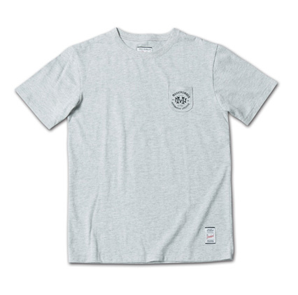 新たなデザインロゴのタイニーポケT『Circle Logo Print Tiny Pocket Tee』MAGIC NUMBER 14SS最新ITEM_Hgrey