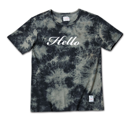 大人っぽい配色のタイダイT「Tie Dye Tee」MAGIC NUMBER 14SS ITEM_Black