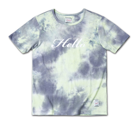 大人っぽい配色のタイダイT「Tie Dye Tee」MAGIC NUMBER 14SS ITEM_Grey