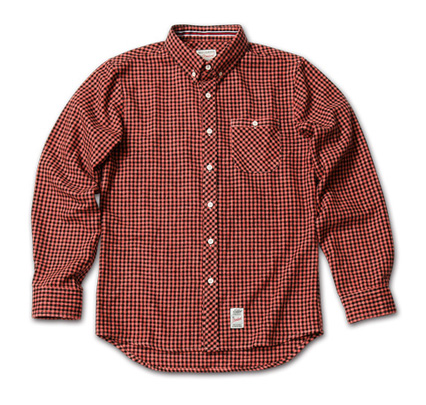 MAGIC NUMBER AW最新ITEM Gingam Check BD Shirts