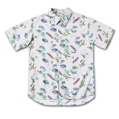 オリジナルパターンのショートスリーブシャツ『 Cotton Twill Original Pattern Shirts S/S』--2014/5/10発売『Blue.』6月号 掲載商品 #6_car