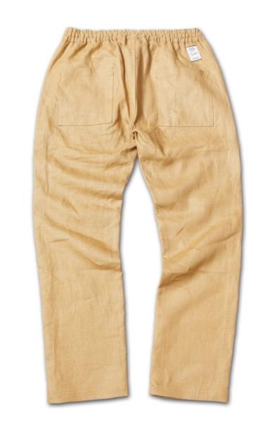 麻素材のイージーパンツ『Linen Easy Pants』『Blue.』No.48 掲載商品 no.1_Camel_B