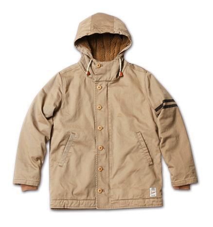 MAGIC NUMBER AW最新ITEM Mod Deck Jacket Hoodie
