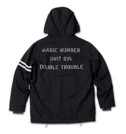 MAGIC NUMBER AW最新ITEM Mod Deck Jacket Hoodie