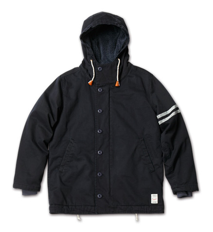 MAGIC NUMBER AW最新ITEMMod Deck Jacket Hoodie