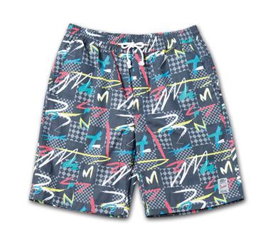 オリジナル柄のショーツ『Cotton Twill Original Pattern Eazy Shorts 』--2014/5/10発売『Blue.』6月号 掲載商品 #9_80s