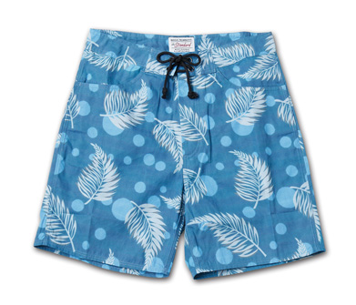 新柄オリジナルパターンのトランクス『Cotton Twill Original Pattern Trunks』MAGIC NUMBER 14HS最新ITEM_Leaf