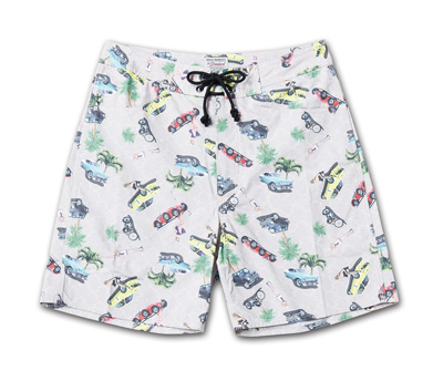 新柄オリジナルパターンのトランクス『Cotton Twill Original Pattern Trunks』MAGIC NUMBER 14HS最新ITEM_car