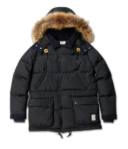 MAGIC NUMBER AW ITEM Fur Trim Down Jacket