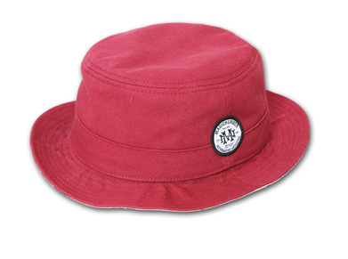 YOSHIDA CAPS INT.別注ハット『Cotton Porkpie Hat』--2014/5/10発売『Blue.』6月号 掲載商品 #2_Burgundy