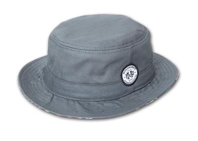 YOSHIDA CAPS INT.別注ハット『Cotton Porkpie Hat』--2014/5/10発売『Blue.』6月号 掲載商品 #2_Gray