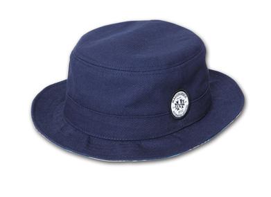 YOSHIDA CAPS INT.別注ハット『Cotton Porkpie Hat』--2014/5/10発売『Blue.』6月号 掲載商品 #2_Navy