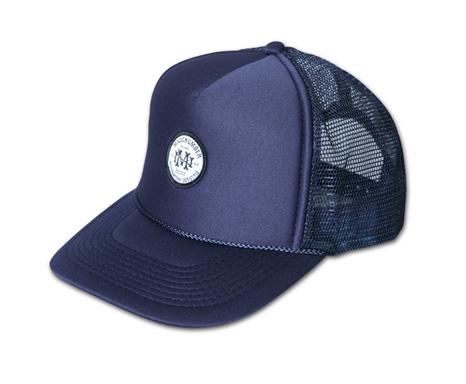 オリジナルワッペン付きメッシュキャップ『Circle Logo Mesh Cap』MAGIC NUMBER 14SS最新ITEM_Navy