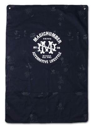 収納のアクセントにも。オリジナル柄タペストリー『Cotton Twill Tapestry』MAGIC NUMBER 14SS最新ITEM_Navy