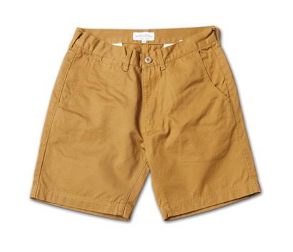 ベーシックなデザインで流行に流されないショーツ、日本製『Hard Finished Chino Shorts』MAGIC NUMBER 14SS最新ITEM_Camel