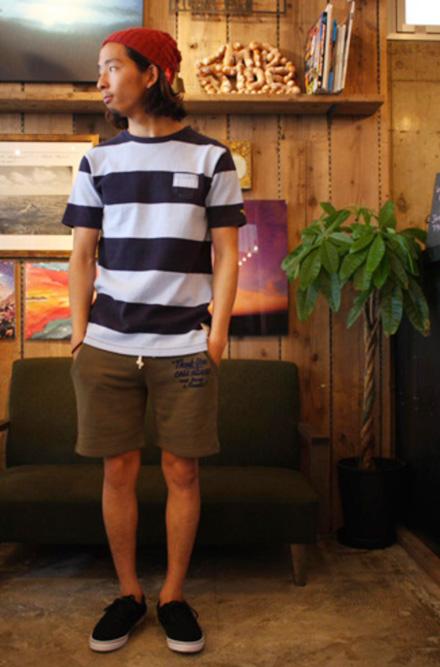 """日本製のリサイクルコットンスウェットショーツ『Recycle Cotton Sweat Shorts""""Thank You""""』MAGIC NUMBER 14SS最新ITEM"""