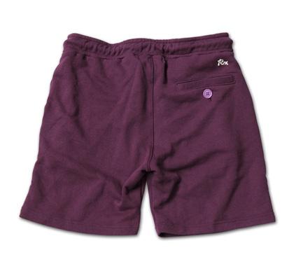 """日本製のリサイクルコットンスウェットショーツ『Recycle Cotton Sweat Shorts""""Thank You""""』MAGIC NUMBER 14SS最新ITEM_Burgandy_B"""