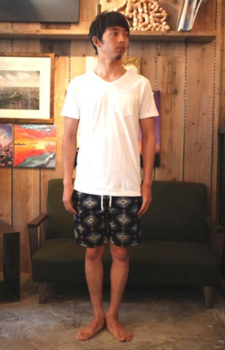 ネイティブパターンのイージーショーツ『Native Pattern Easy Shorts』MAGIC NUMBER 14HS最新ITEM