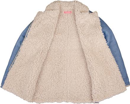 MN by Lepidos Holiday最新ITEM Denim & Sheep Boa Jacket