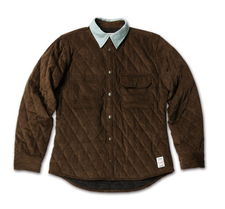 MAGIC NUMBER AW最新ITEM Quilting Corduroy Shirts Jacket