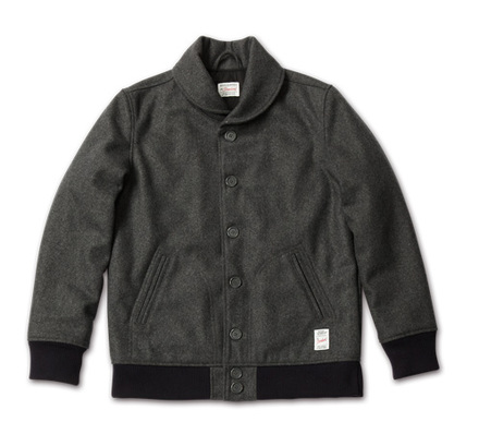 MAGIC NUMBER AW最新ITEM Wool Melton Versity Jacket