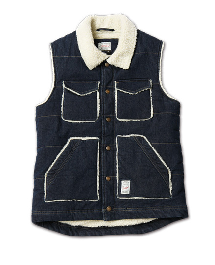 MAGIC NUMBER AW最新ITEM Denim Quilting Vest