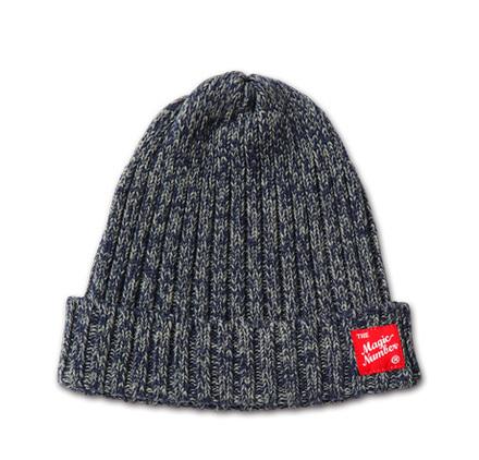 MAGIC NUMBER AW最新ITEM Mix Knit Rib Beanie