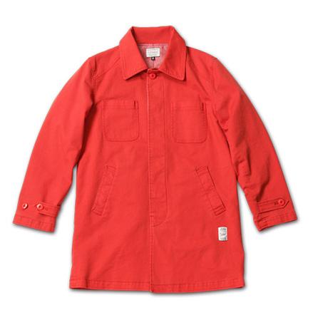 MAGIC NUMBER AW最新ITEM Cotton Stretch Twill Shop Coat