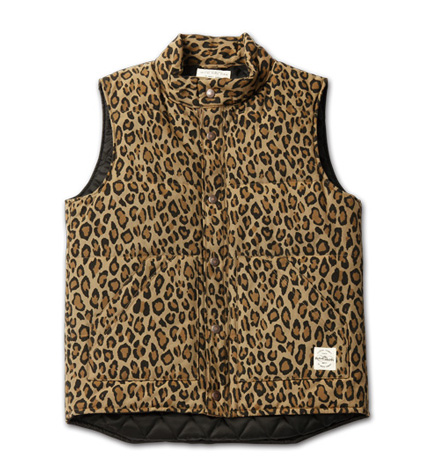 MAGIC NUMBER AW最新ITEM Patterned 60/40 Cloth Vest